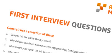 First Interview Questions