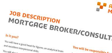 Job Description Template - Mortgage Broker/Consultant
