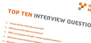 Top 10 Interview Questions - Cheat Sheet